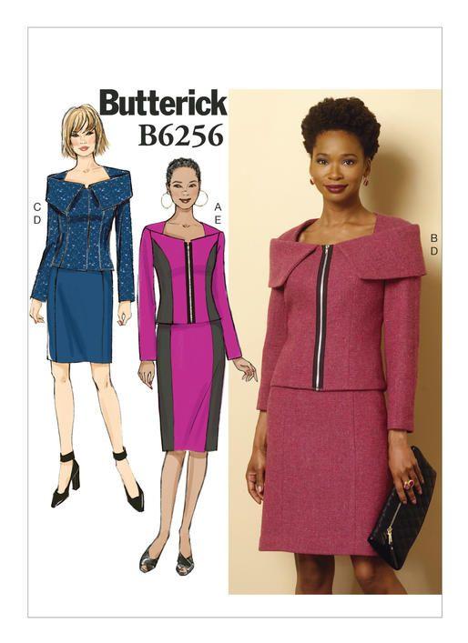 B6256 | Butterick Patterns | fiber and sewing | Pinterest