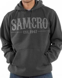 7efa168a1d6 Sons Of Anarchy Pullover Hoodie - Samcro 1967 Charcoal