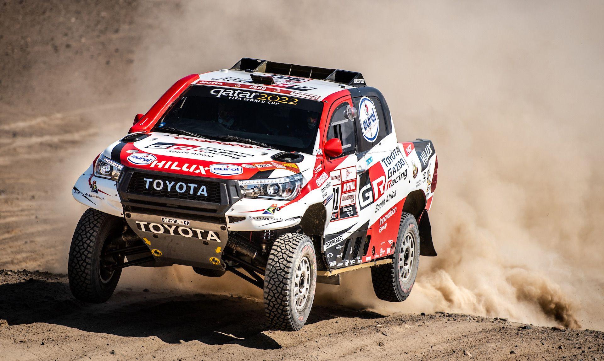 Toyota Dakar 2021 Interior In 2020 Toyota Hilux Dakar Toyota