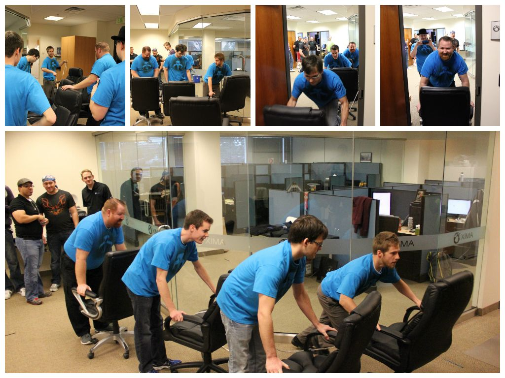 Utah Company Goes for Gold with Office Olympics Office