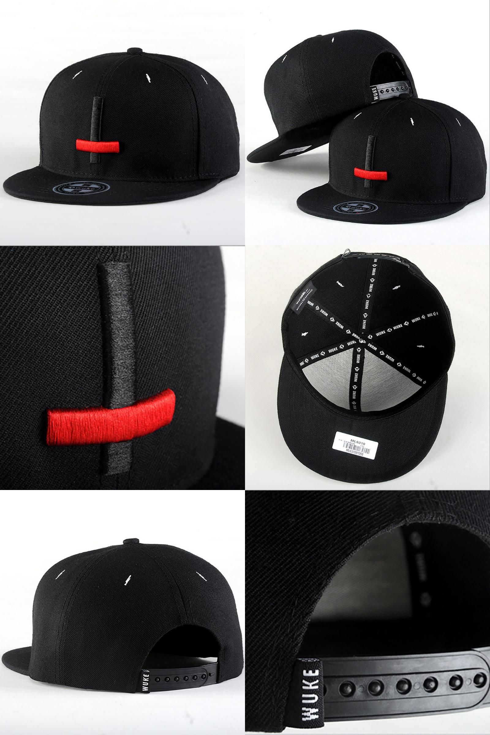 0a25a7027a6  Visit to Buy  2015 New Brand Street Dance Cool Hip Hop Caps Embroidery  Black