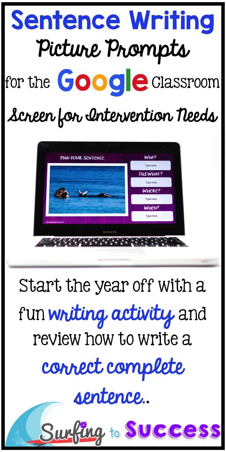 Using Flubaroo To Enhance Google Quizzes Classroom Writing Sentence Writing Google Classroom