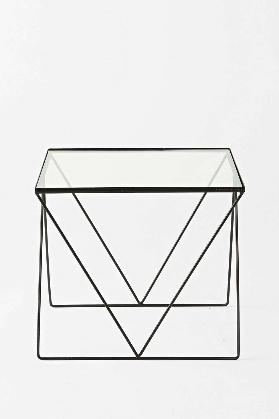 Magical Thinking Diamond Side Table With Images Coffee Table