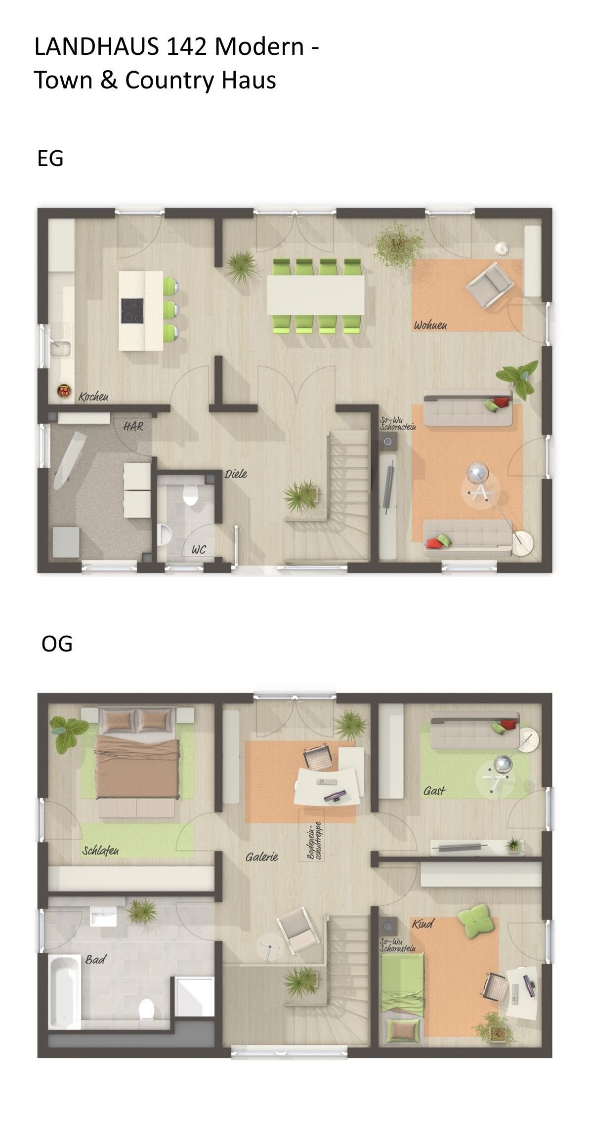 Grundriss Einfamilienhaus Mit Galerie Satteldach