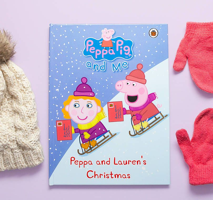 Penwizard personalised books peppa christmas overview