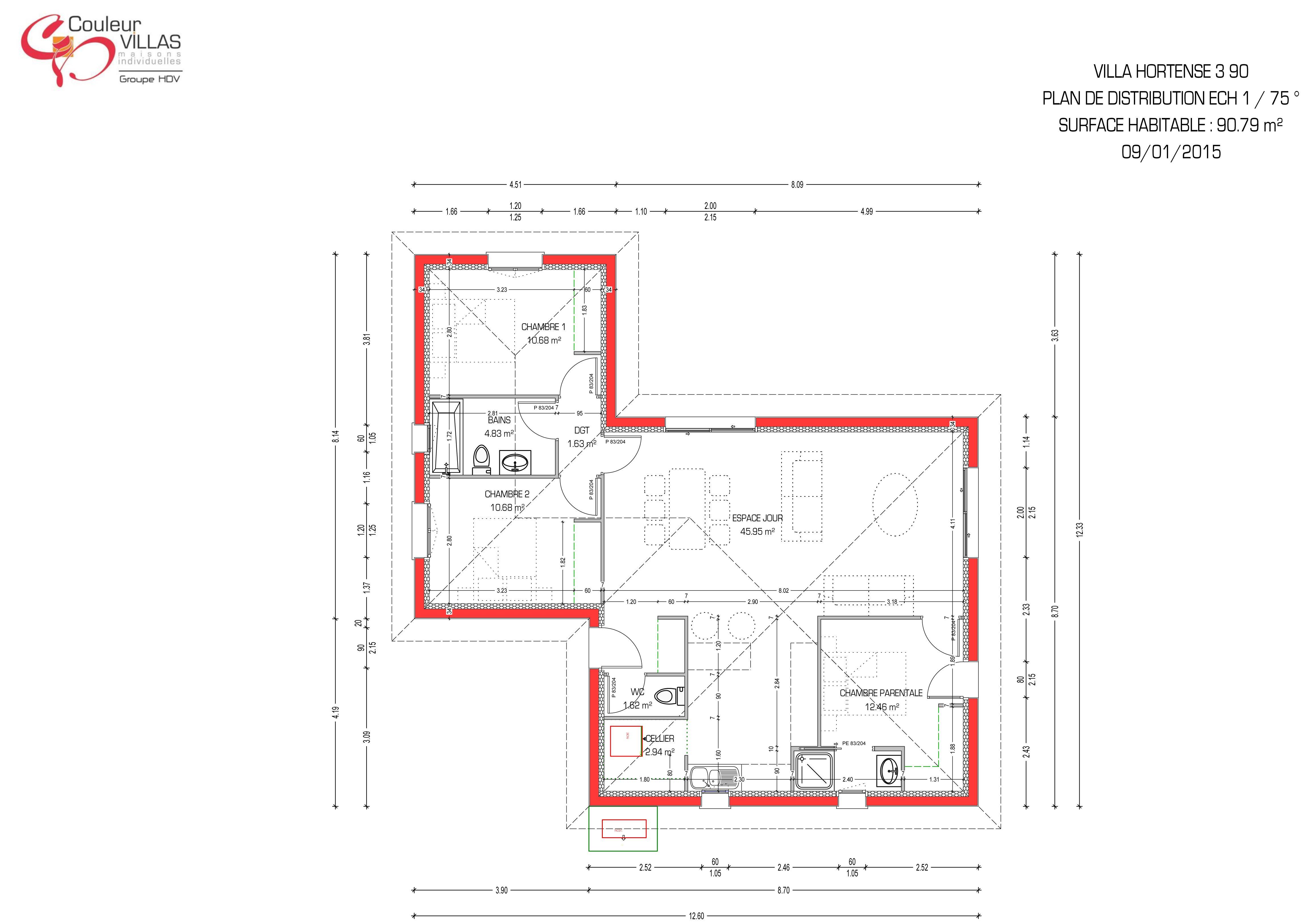 Avis Constructeur Couleur Villas Épinglé sur plan maison