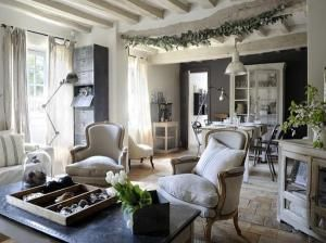 Industrial Style Sitting Room