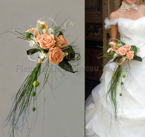 Bouquets de mariées – Bouquets insolites – Bouquet FANTAISIE – myriam AGUILERA