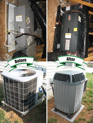 Service Gallery Air Conditioning Installation Hvac Services Air Handler