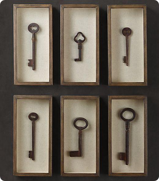 Skeleton Key Decorating Ideas