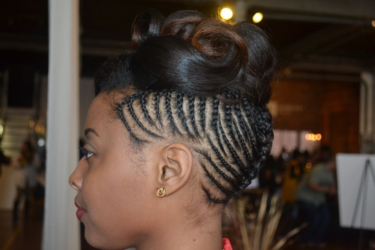 Enjoyable Pin Curls Curls And Braided Updo On Pinterest Hairstyle Inspiration Daily Dogsangcom