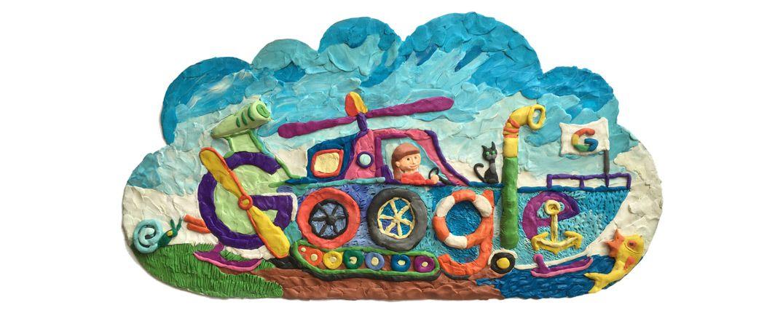 April 26 2016 doodle 4 google 2016 russia winner 7 year · google artwall