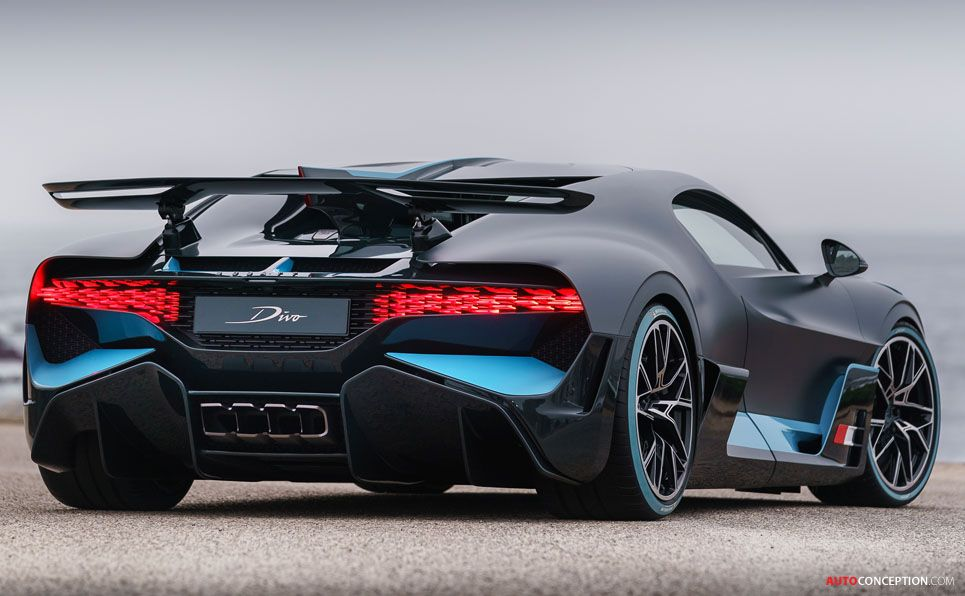2018 Bugatti Divo Sieu Xe