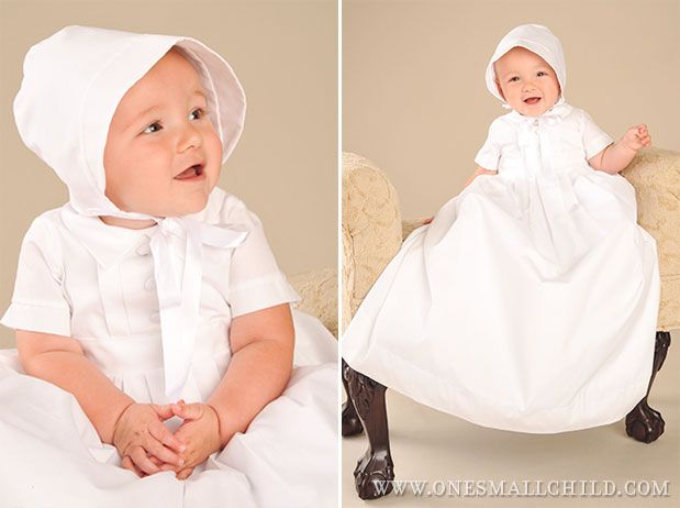 Boys Baptism Outfits: Caleb Christening Gown