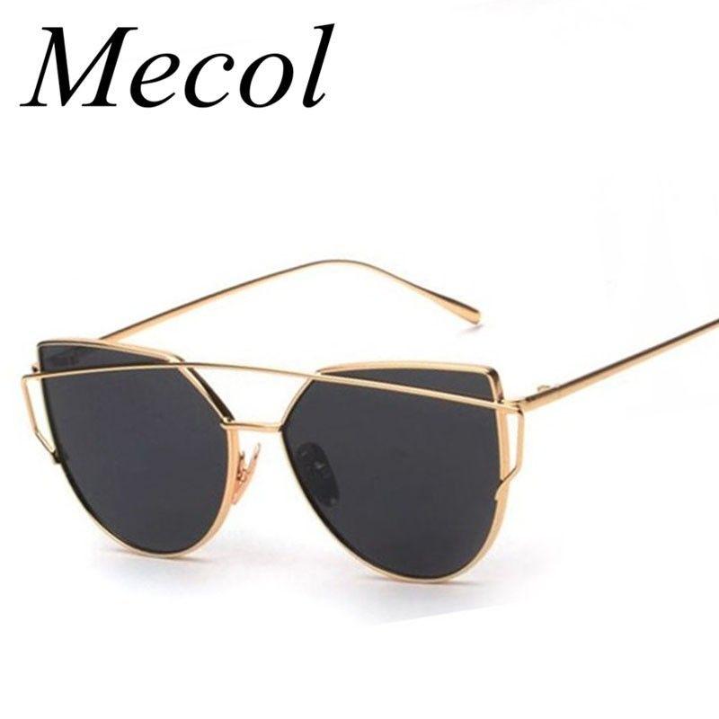 Women'S Elegant Fashion Cat Eye Sunglasses Multicolour Frame UV Protection Lady Sunglass for Women zovBvu6Qa8