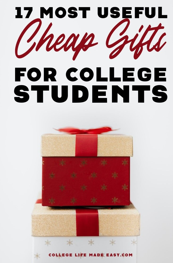 Cheap gifts that are actually useful for college students