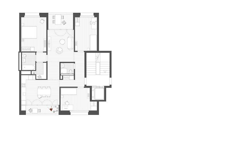 Gut&Schoep Architekten Zürich Wohnungsgrundrisse