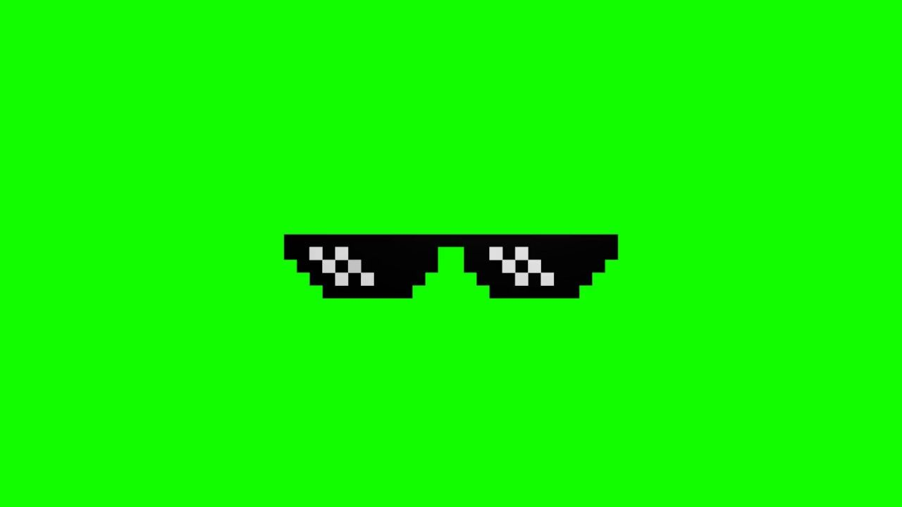 Meme Glasses Green Screen Papel De Parede Youtube Edicao De
