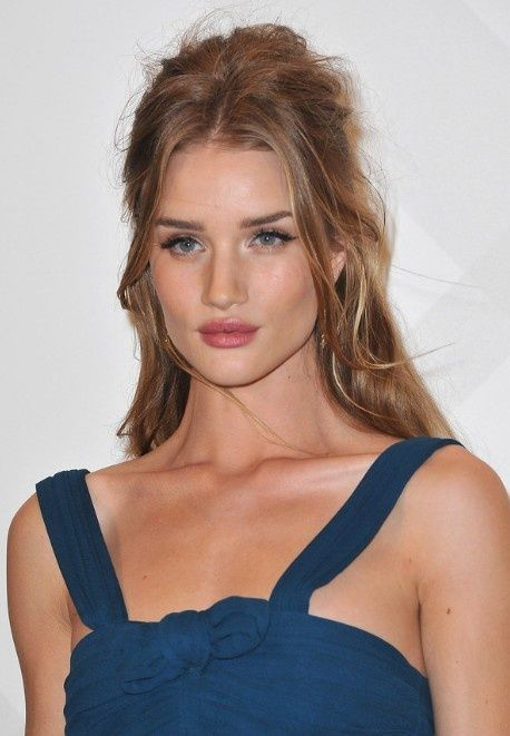 Sexy Tousled Half Up Half Down Hairstyle for Long Hair