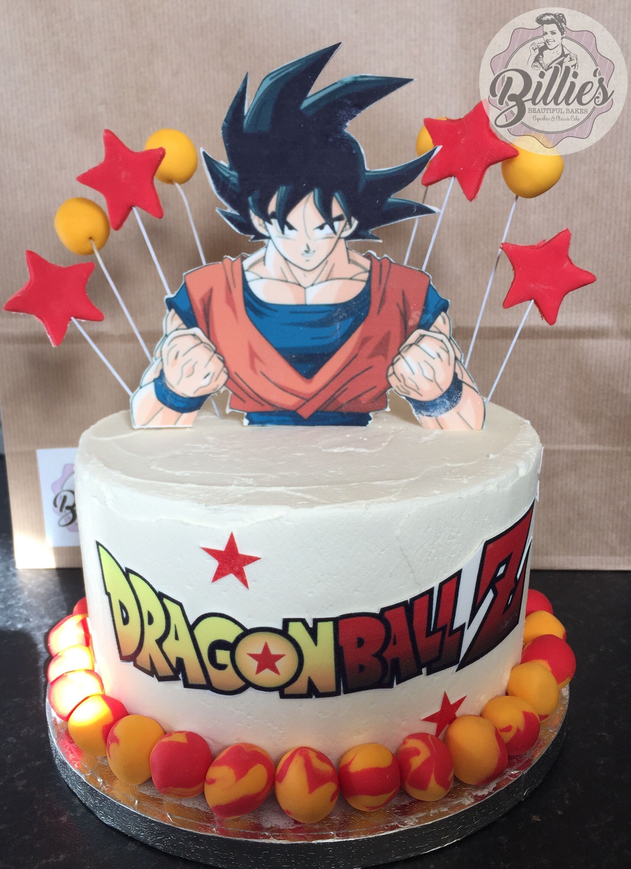 Dragon Ball Z Birthday Cake With Images Goku Birthday Anime
