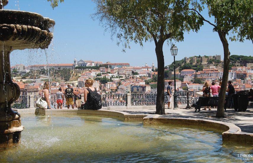 Miradouro de São Pedro de Alcântara, Lisboa