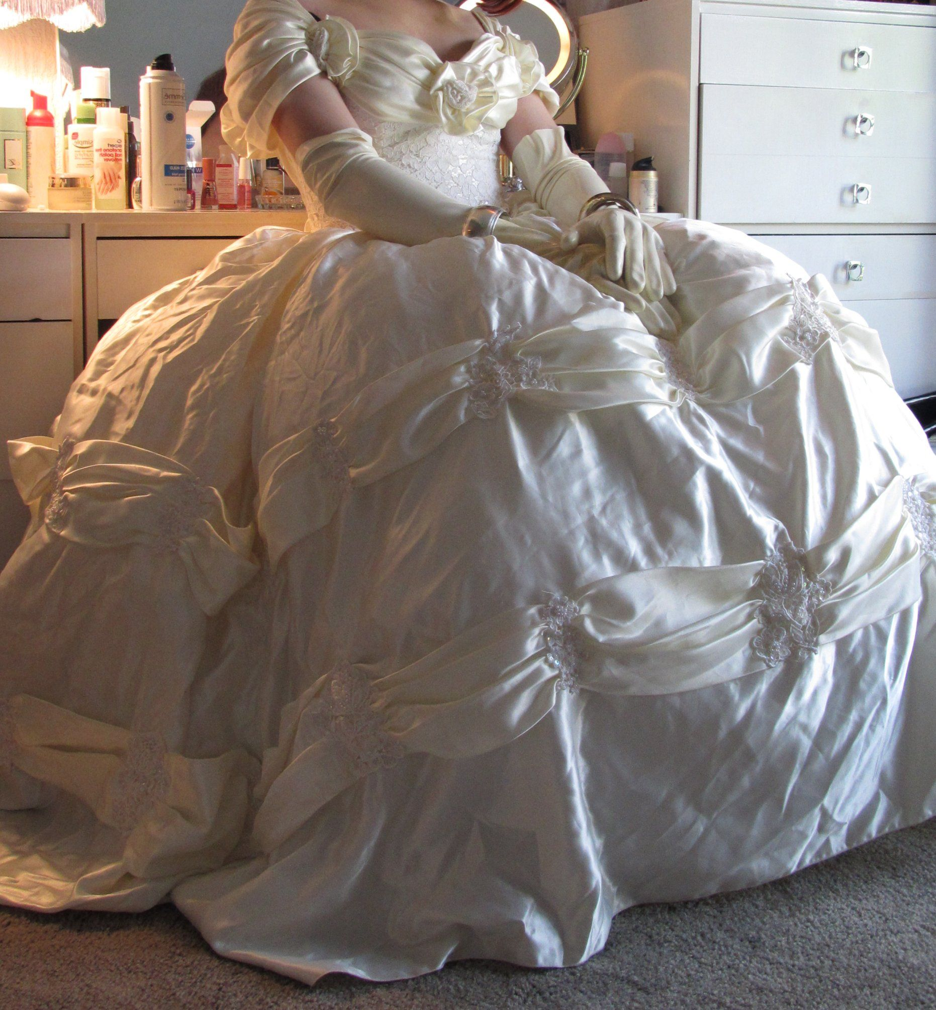Связанная невеста фото, от укропа сиськи растут
