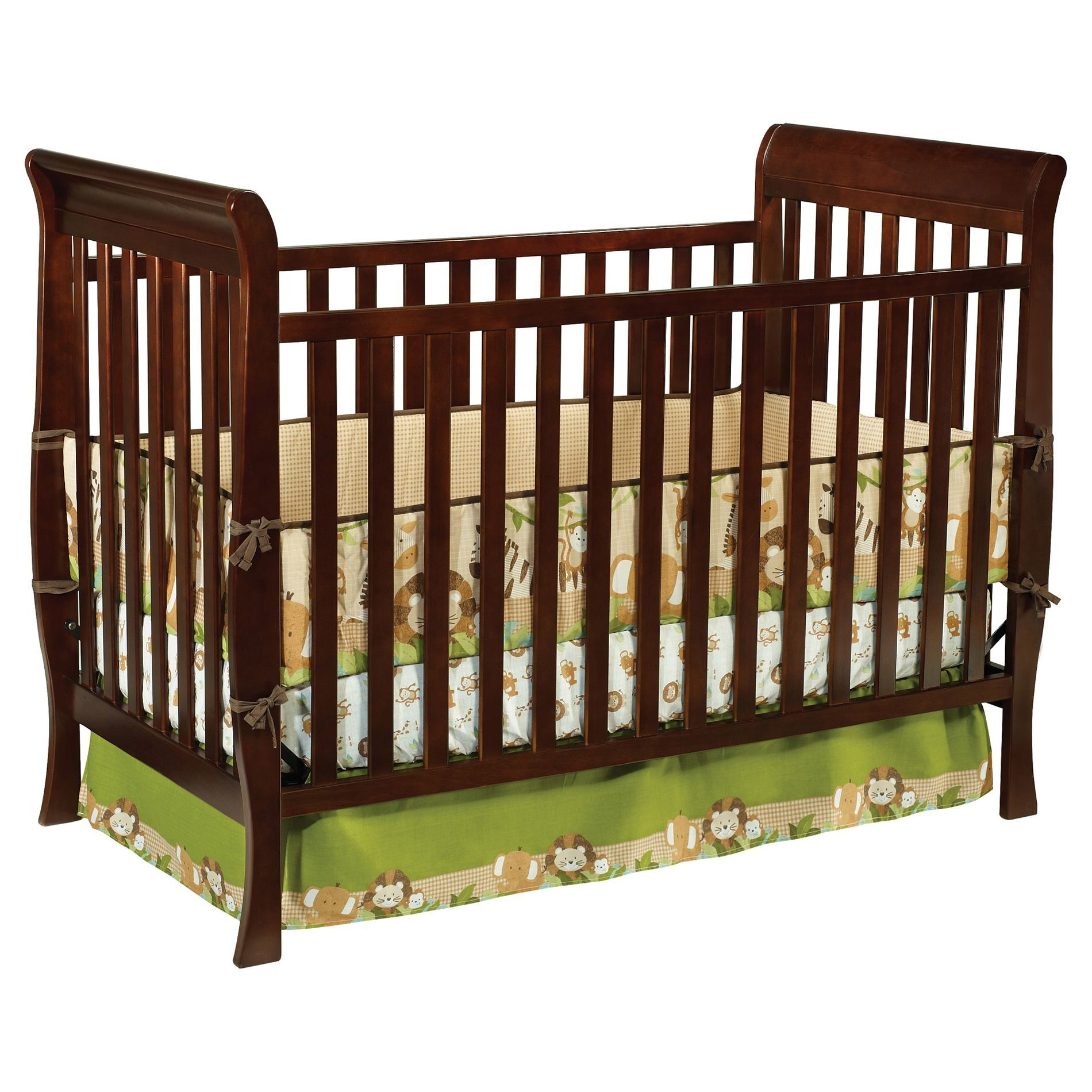 espresso sonoma convertible crib and changer baby cribs