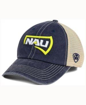 Top of the World Northern Arizona Lumberjacks Wicker Mesh Cap - Blue Adjustable