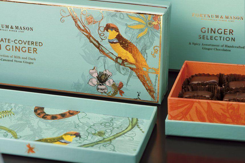 Fortnum & Mason Handmade | Luxury Chocolate Illustration Packaging Design Inspiration | Award-winning Packaging Design | D&AD