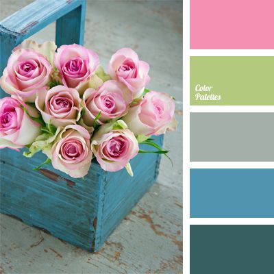 Delicate Shades Of Turquoise Combine Very Harmoniously With Pink The One That Is Shown In This Palette It Is Recomm Color Palette Color Schemes Color Balance