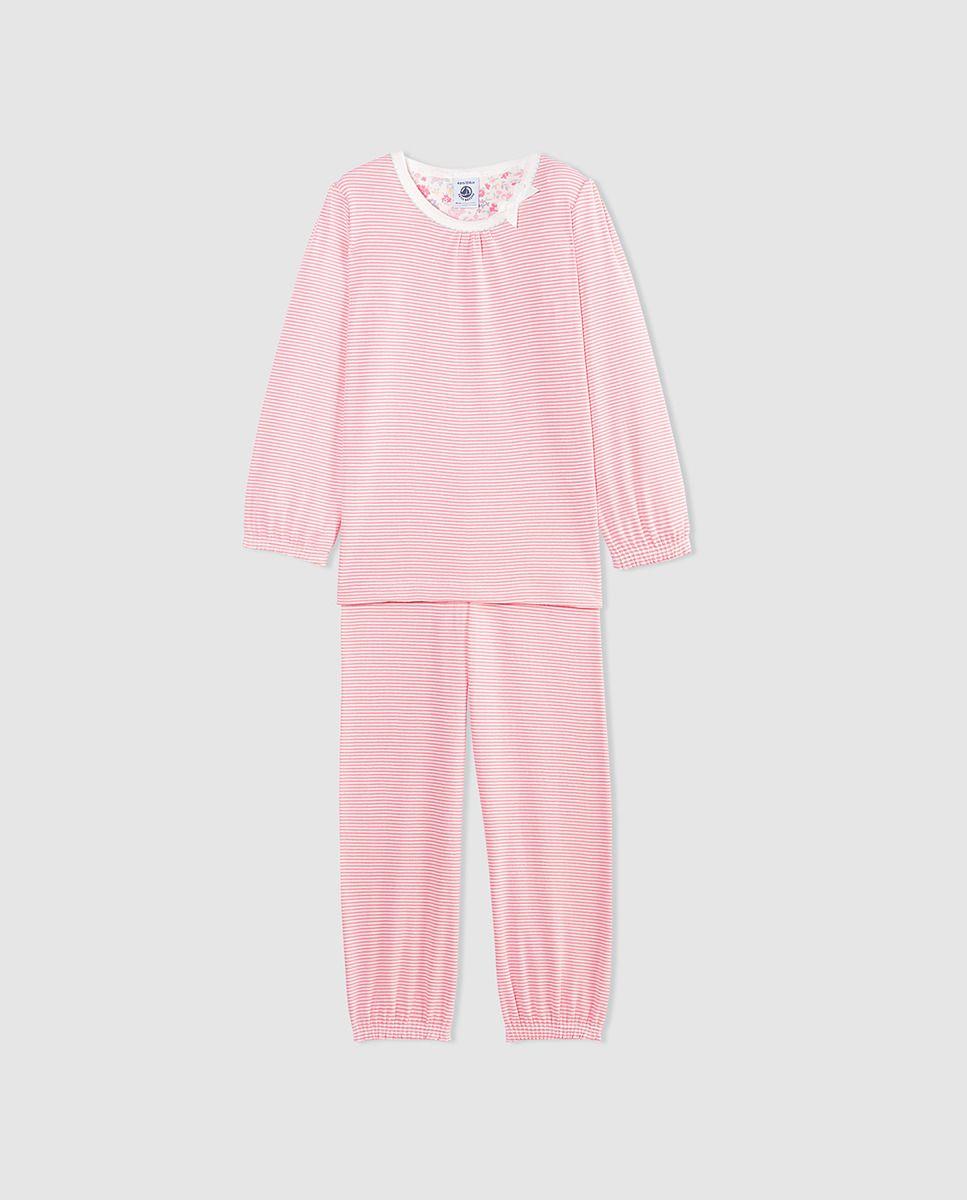 1e302560b Pijama de niña Petit Bateau de rayas dos piezas · Petit Bateau · Moda · El