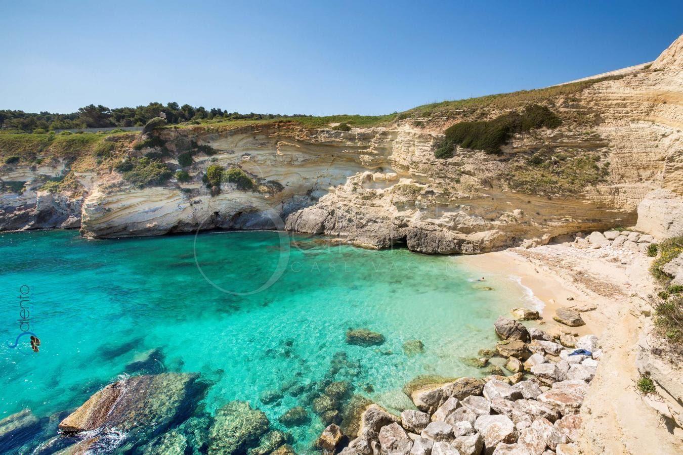Baia Di Porto Miggiano Santa Cesarea Terme Spiagge Piu Belle