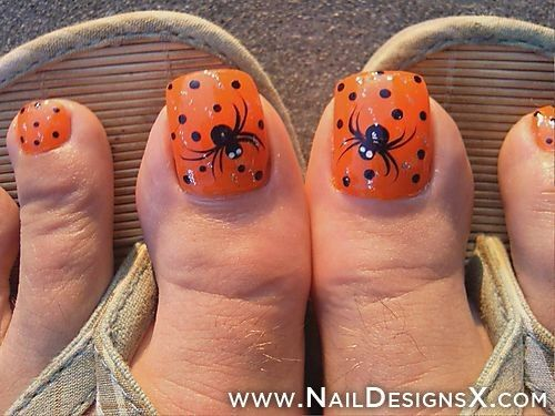 Funny Toe Nail Art Nail Designs Nail Art Halloween Toe Nails Halloween Nail Art Toe Nail Designs