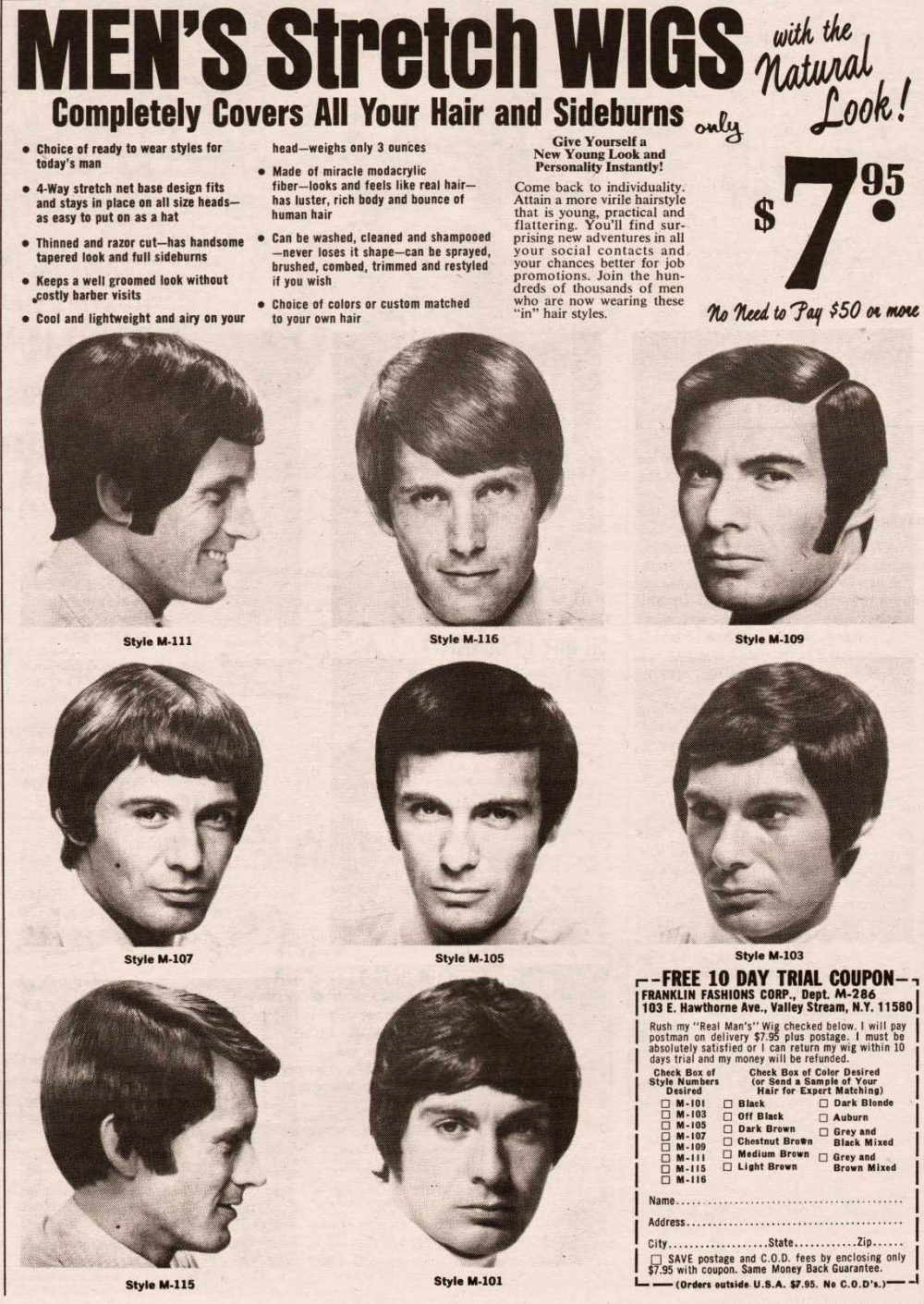 Pin On Mens 60s Hairstyle