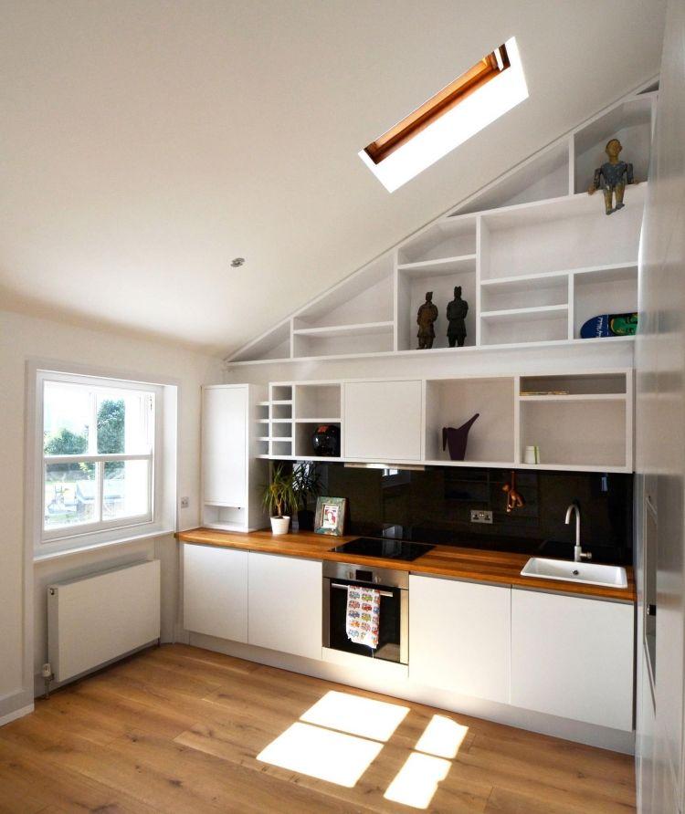 Gut Holz Arbeitsplatten Machen Die Moderne Küche Gemütlich #massivholz  #weißarbeitsplatte #fliesen #einzigartig #awesome