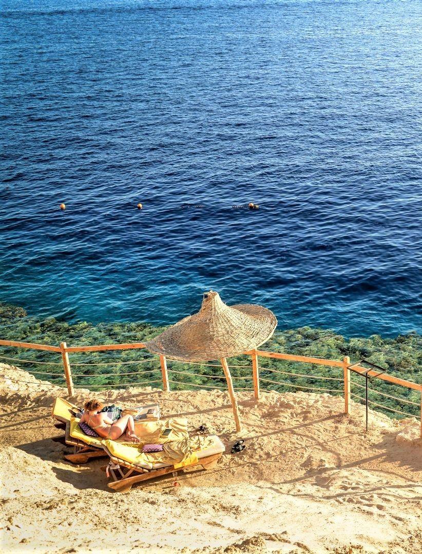 Hier Beim Sharm Plaza Hotel Direkt Am Strand Kann Man Bestens