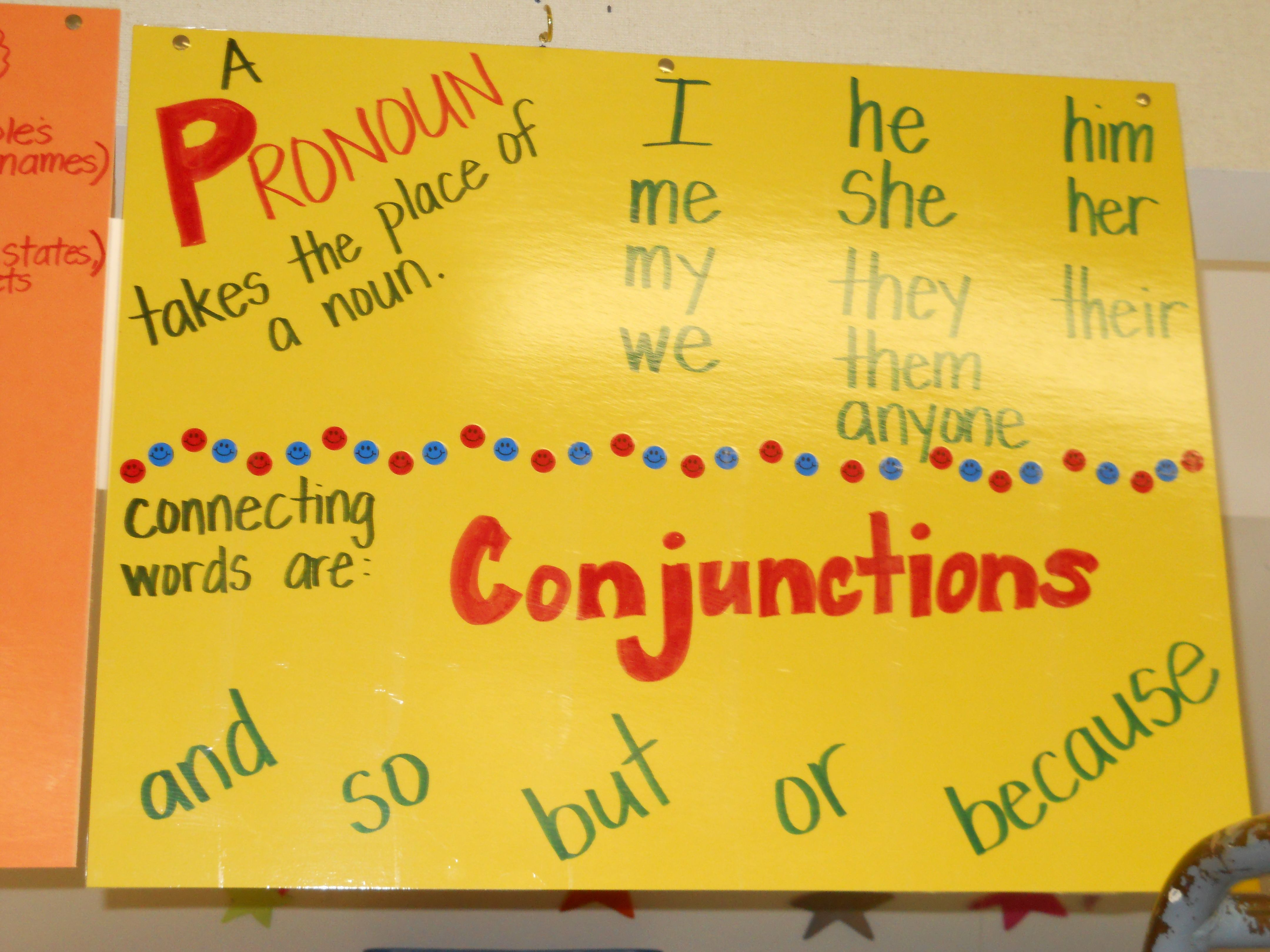 Pronouns And Conjunctions