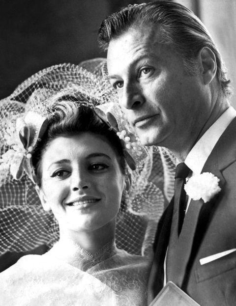 El enlace de Tita Cervera con Lex Barker, el 6 de marzo de 1965.