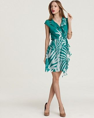 Milly Dress Madeira Ruffle Wrap Bloomingdale S