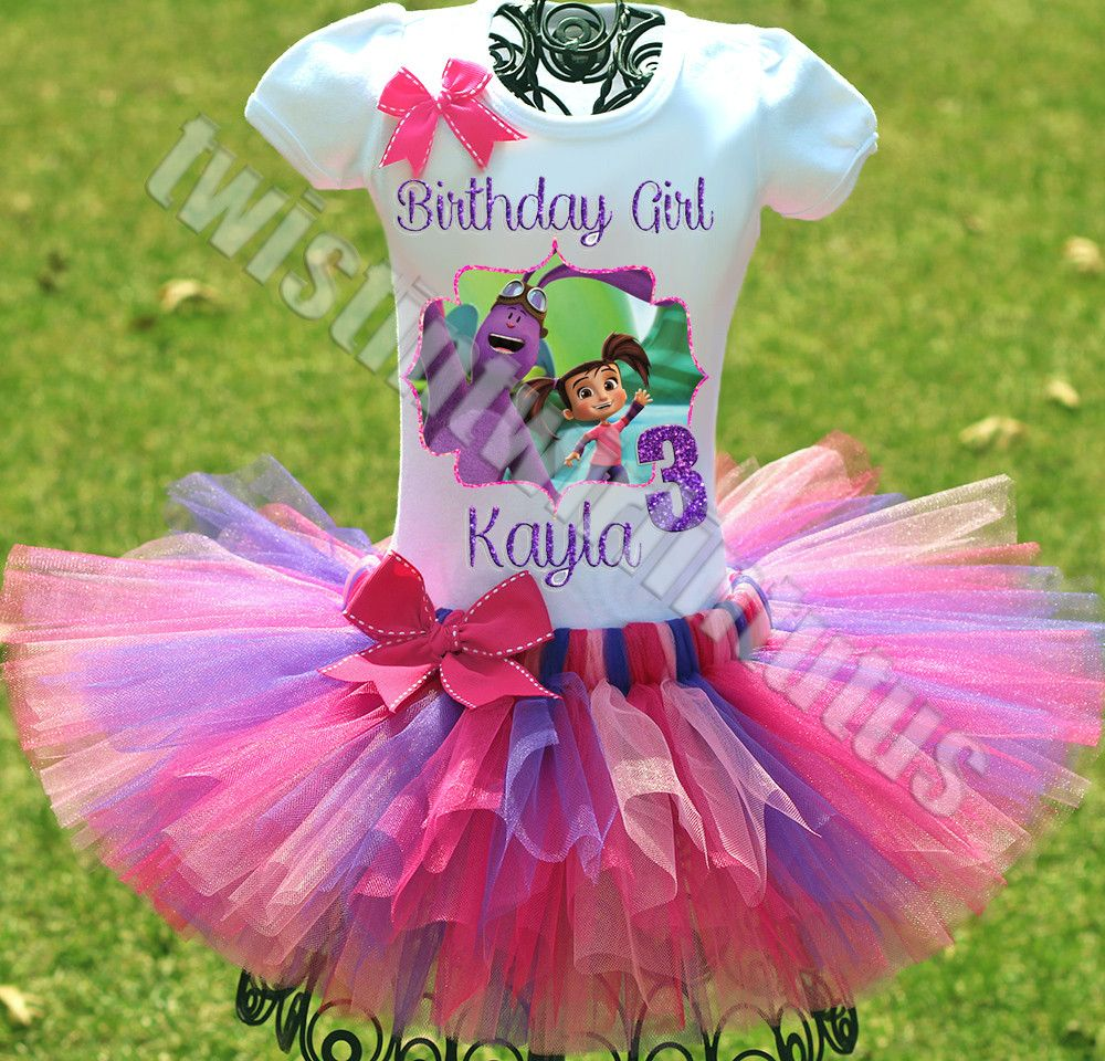 Kate and Mim Mim Birthday Outfit