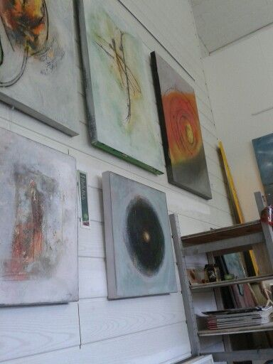 last preparations for pentecost on both days i have opened my atelier atelier exhibition pentecost