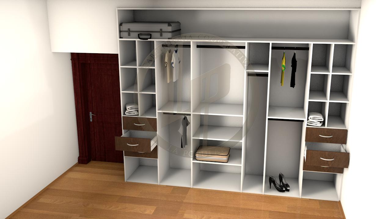 Placard puertas corredizas buscar con google muebles for Closet con puertas corredizas