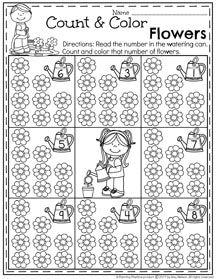 May Preschool Worksheets | Pinterest | Frühling und Kind