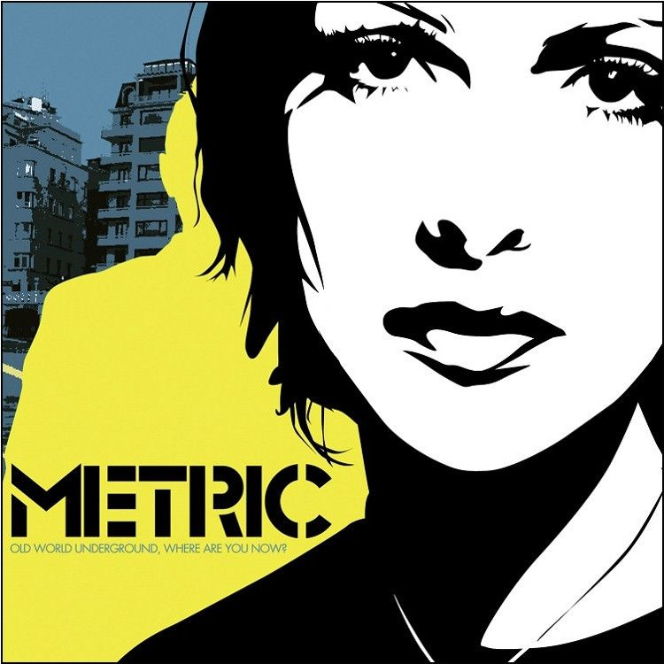 Metric Old World Underground Where Are You Now Vinyl