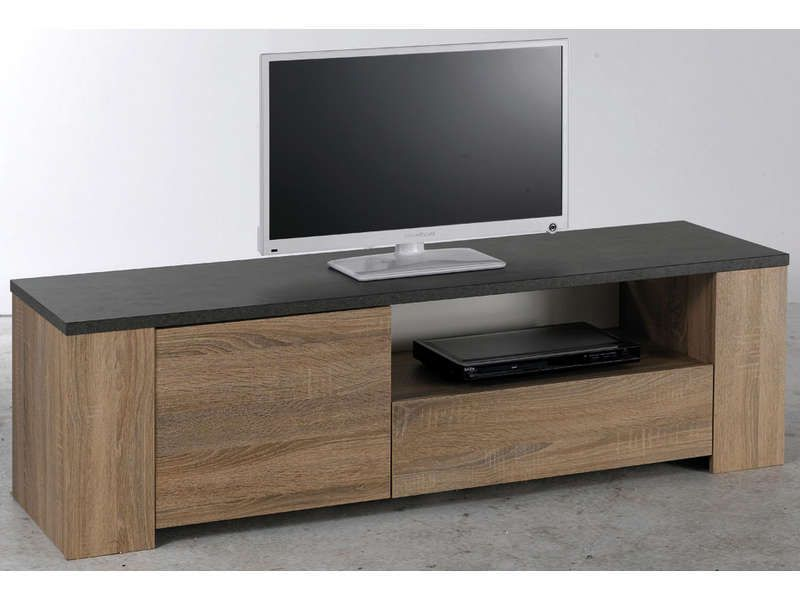 banc tv 518680 meuble tv conforama