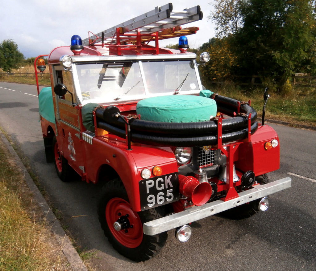 Very Nice S1 Fire truck For Sale - Australian Land Rover Owners
