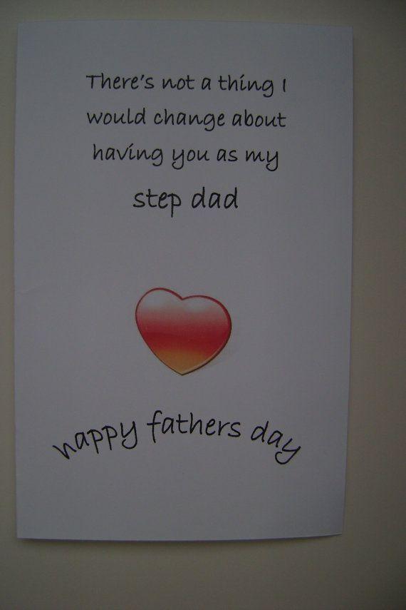 step dad stepdad cards step fatherfathers day cards by expressazo