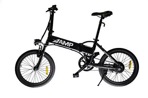 Greenlight Innovations Amp Electric Folding Bike Black 20