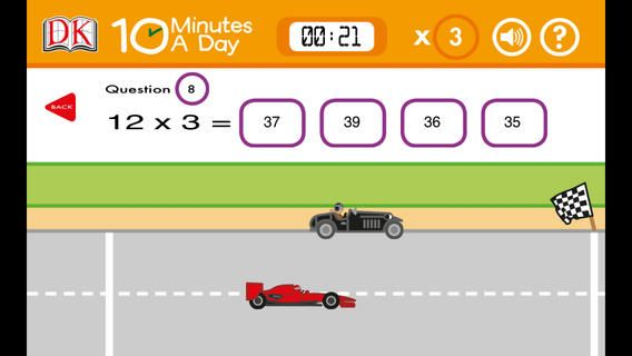 10 Minutes A Day Multiplication Math Apps Education Third Grade Math