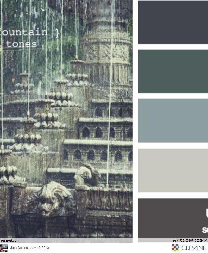 Color Palette - Kitchen (Pop of turquoise)